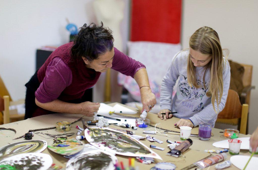 Atelier de peinture créative