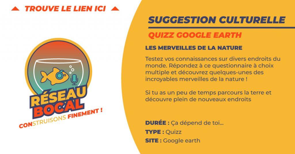 quizz google earth